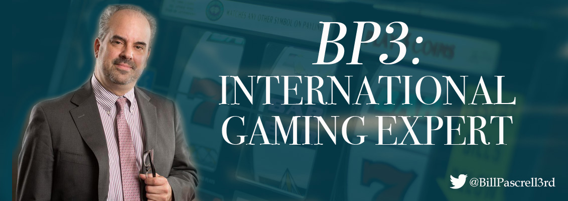 Bill Pascrell, III International Gaming Expert Lobbyist