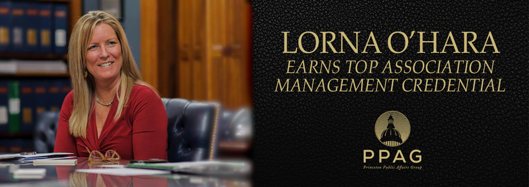 Lorna O'Hara earns top Association Management Credential