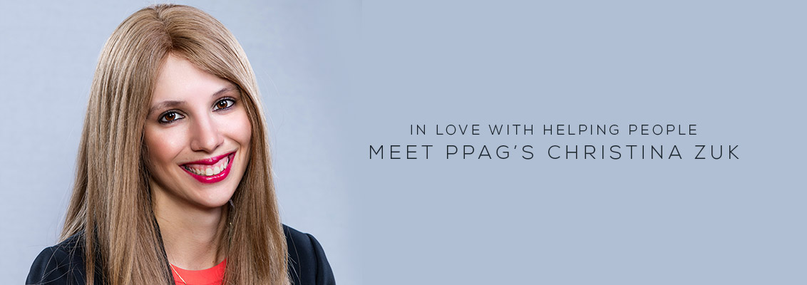 In Love with Helping People Meet PPAG's Christina Zuk